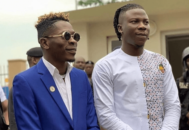 Ghana Is Proud Of You - Shatta Wale Applauds Stonebwoy In New Post