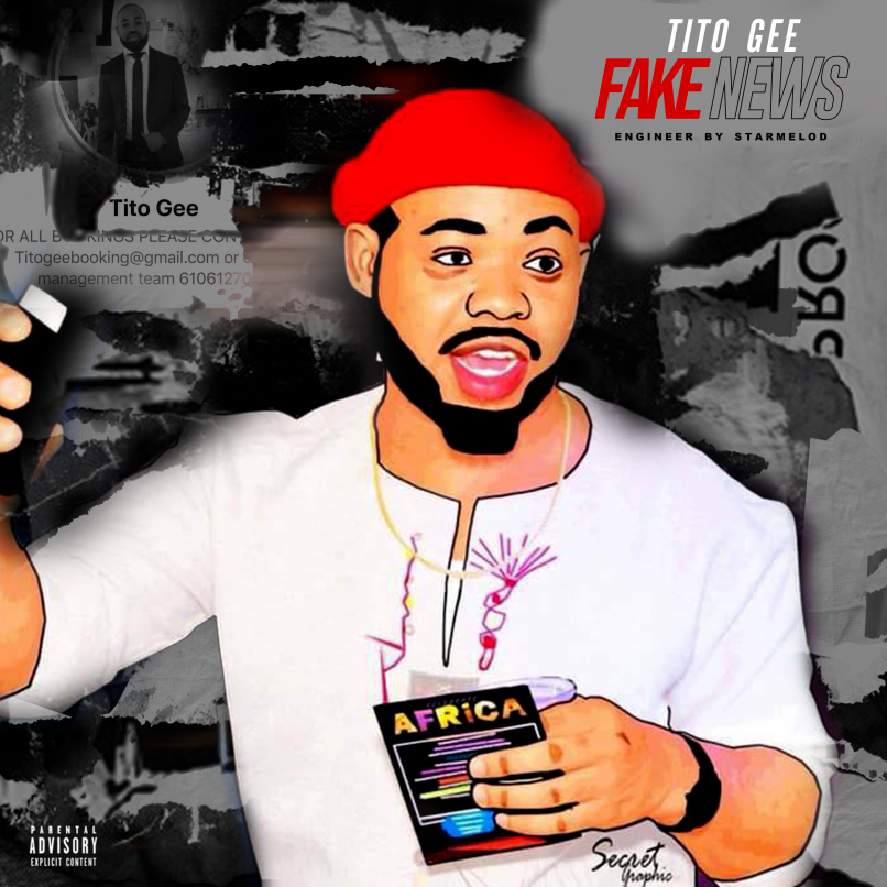 Tito Gee - Fake News (Prod. by Starmelod)