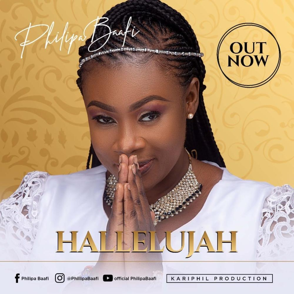 Philipa Baafi Hallelujah Song Is Number 1 On iTunes Top 200 Ghana Chart