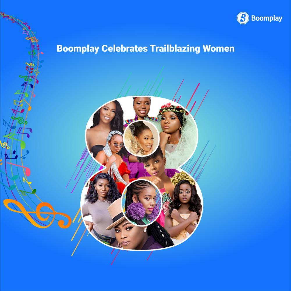 Boomplay Celebrates Trailblazing Women On International Women's Day 2021