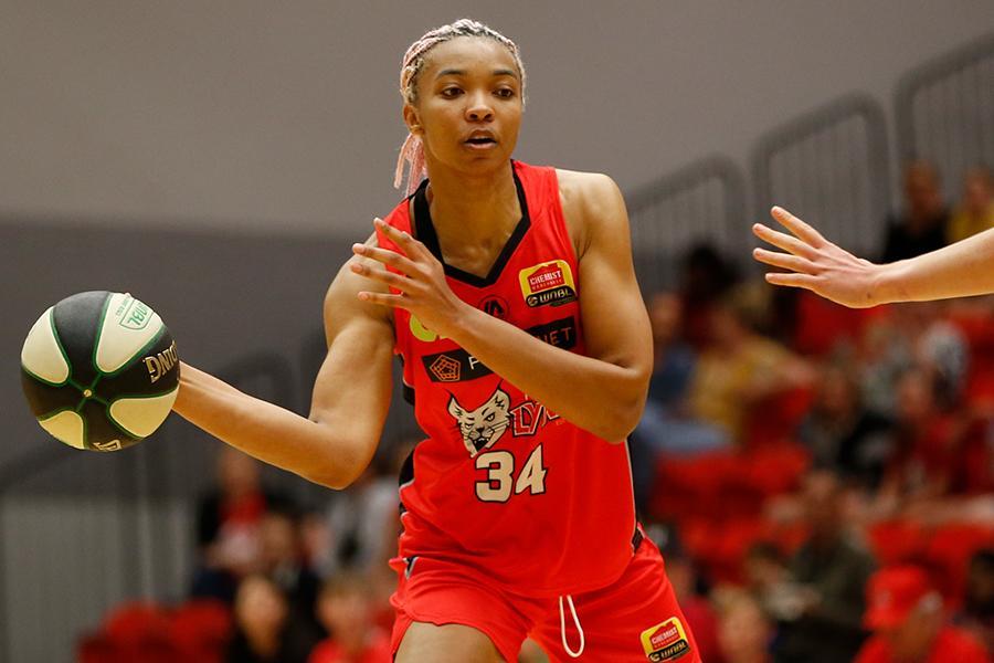 WNBA Star, Imani McGee-Stafford Heads To Ghana